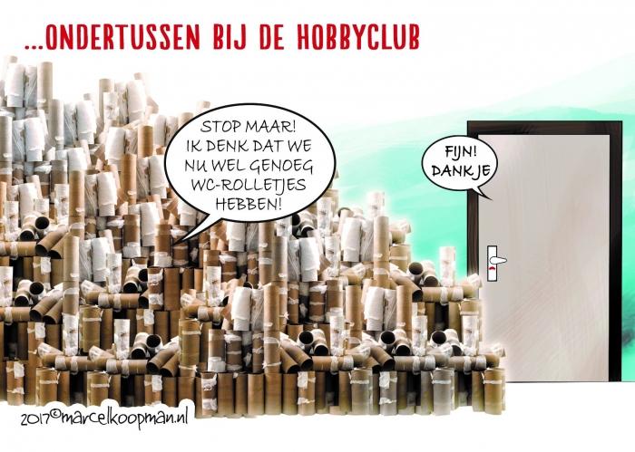 Cartoon Marcel Koopman