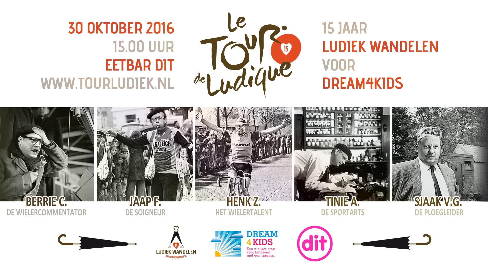 Tour de Ludique - Ludieke Sponsoractie voor het goede doel!