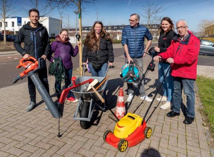 Tip van Karwijk: tuingereedschap uitleen